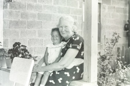 Grandma Faircloth and I - I Loved Her Dearly, A Godly Woman
